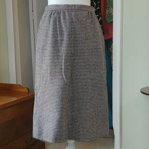 Pendleton Vintage Skirt